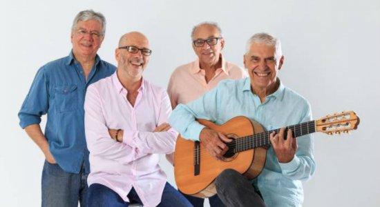 MPB4 comemora 50 anos com show no Recife