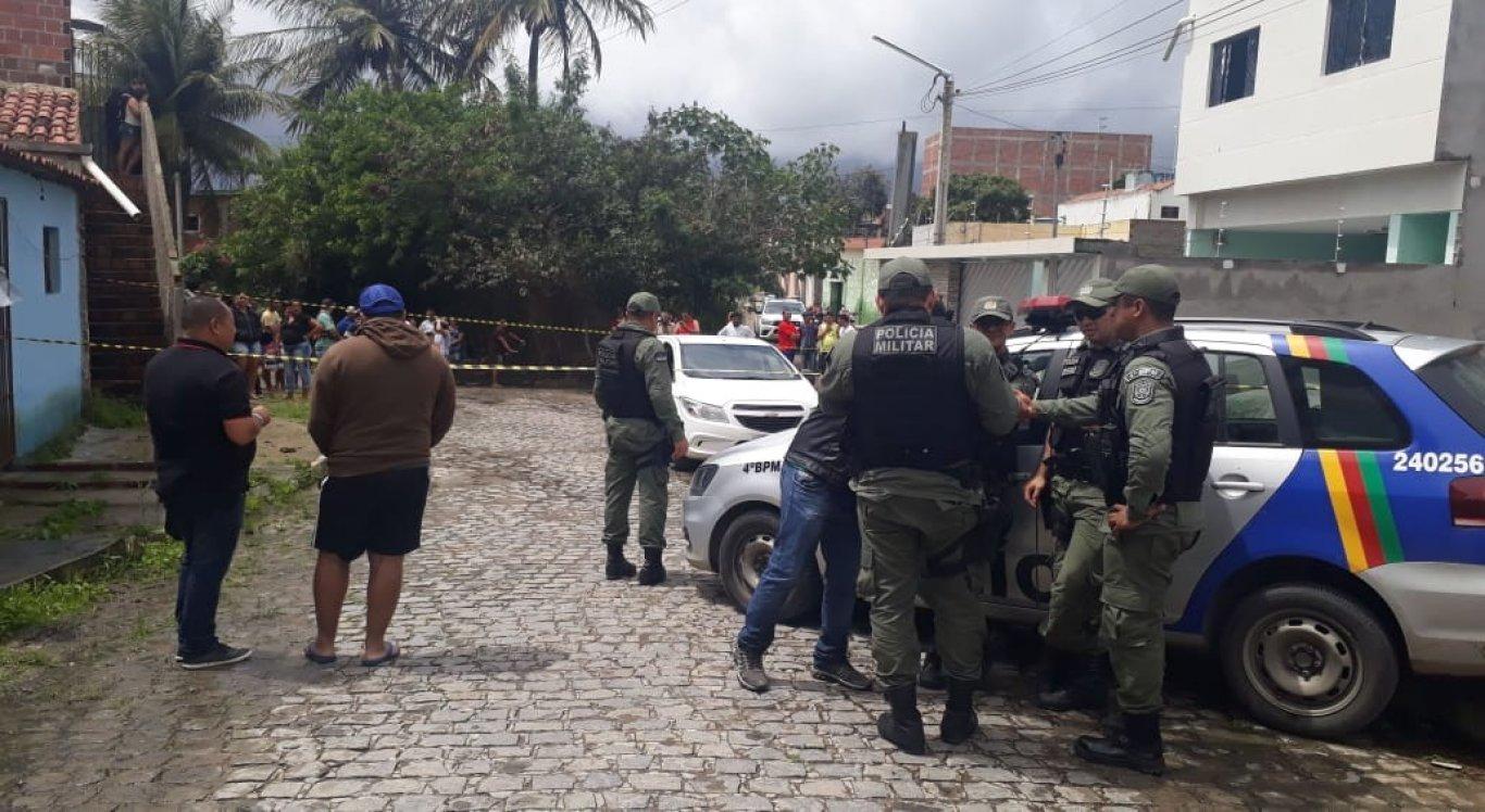 O crime aconteceu no bairro Petrópolis