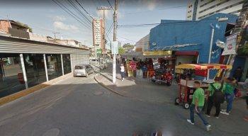 O caso aconteceu próximo à Rua das Ninfas, no centro da cidade