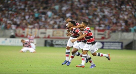 Santa Cruz: veja os gols da vitória coral na Arena de Pernambuco
