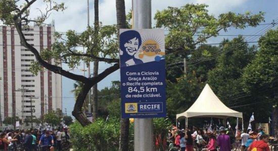 Com festa, ciclovia em homenagem à Graça Araújo é inaugurada