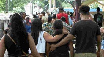 Familiares e amigos estão inconsoláveis com a tragédia