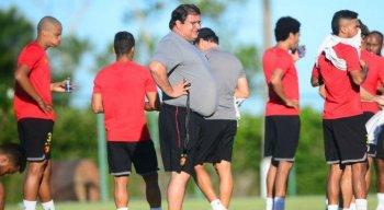 Guto Ferreira considera normal a pressão que o Sport vem sofrendo por resultados positivos
