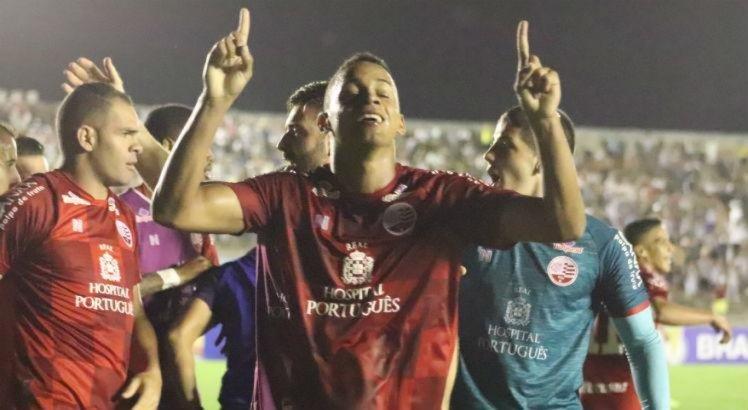 'É uma sensação que não tem explicação', diz Alvaro após fazer primeiro gol pelo Náutico