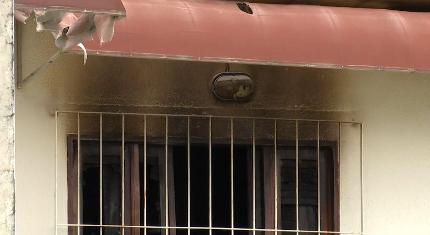 Na última sexta-feira (16), um princípio de incêndio foi registrado na casa