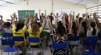 O objetivo do aulão é enriquecer a aprendizagem das quarenta detentas que vão se submeter ao Enem
