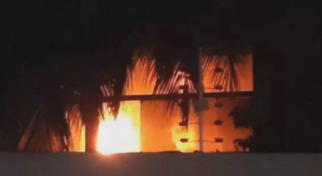 Princípio de incêndio atingiu casa do prefeito de Serra Talhada