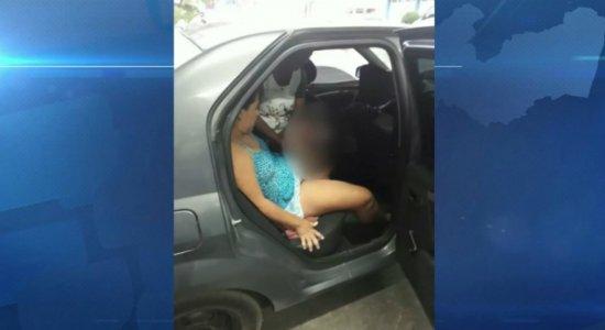 Mulher dá à luz dentro de carro durante corrida de Uber em Petrolina