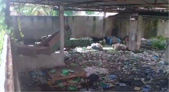 Galpão abandonado em San Martin incomoda a população