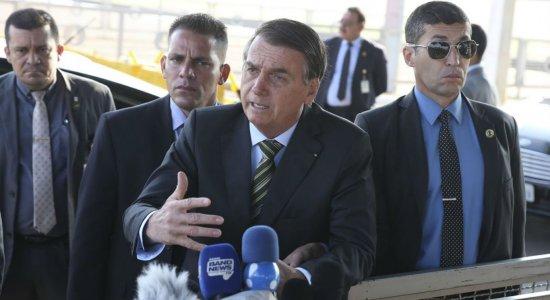 Bolsonaro: incêndios na Amazônia não podem ser pretexto para sanção