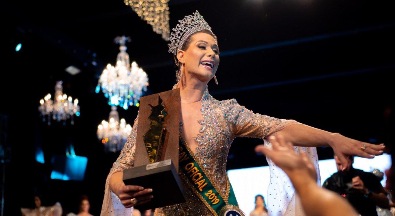 Antonia Gutierrez foi eleita Miss Brasil Gay 2019