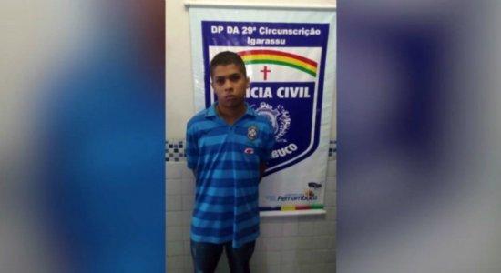 Suspeito de praticar homicídios em Igarassu é preso