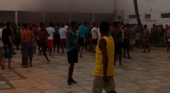 Princípio de incêndio atinge cela de presídio em Itamaracá