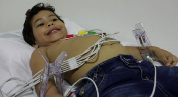 Daniel, de 5 anos, recebia assistência na rede particular. Agora, na Casa do Coração, ele poderá continuar realizando o tratamento de forma gratuita