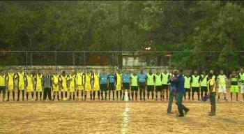 O jogo aconteceu no campo da Campina do Barreto.