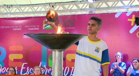 Jogos escolares do Recife bate recorde de inscrições em 2019