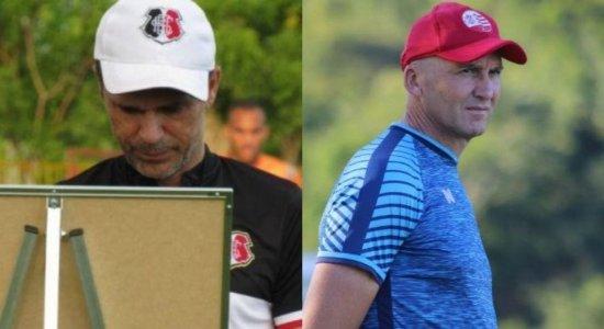 Milton Mendes confirma titulares do Santa Cruz e Gilmar Dal Pozzo chateado com polêmicas