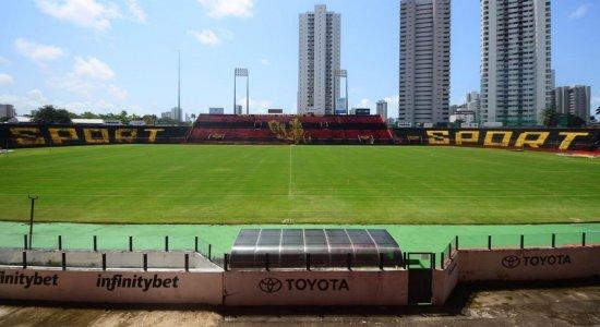 Sport recupera gramado da Ilha do Retiro para partida contra o Atlético-GO