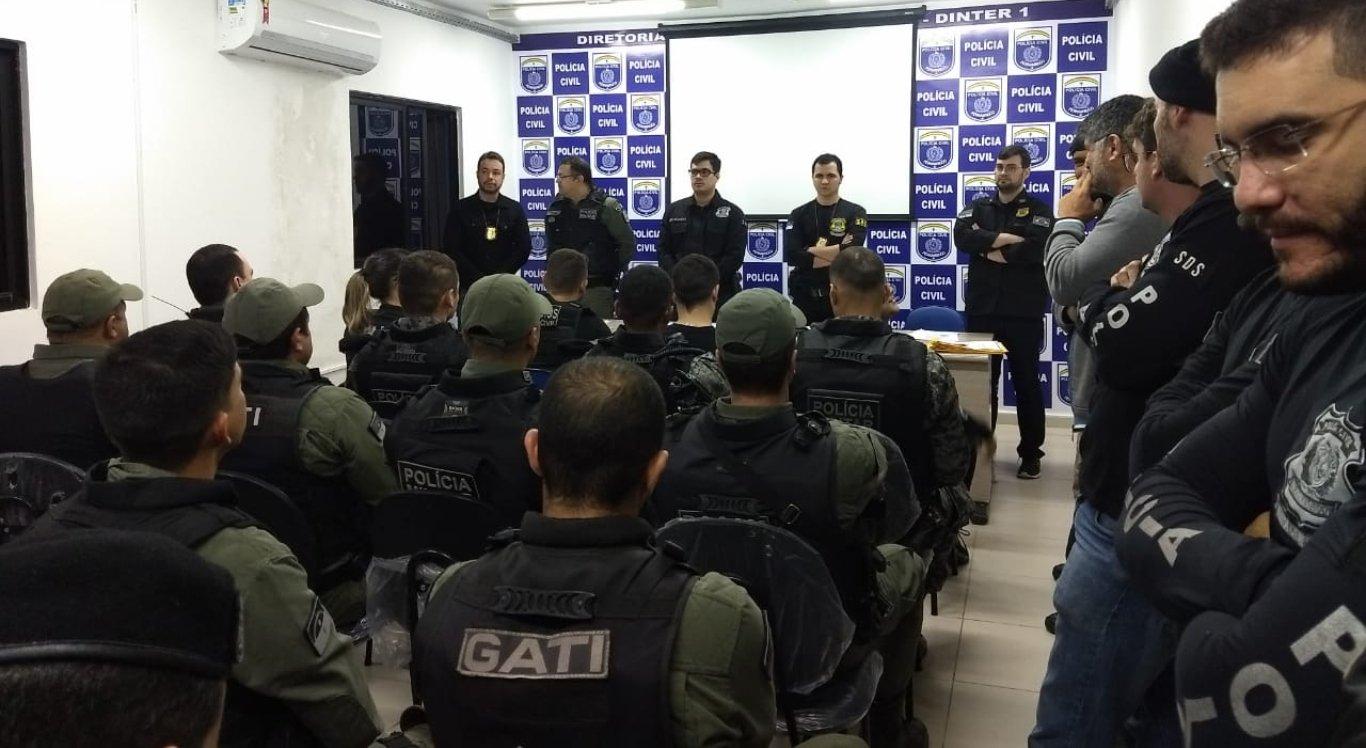 Operação da polícia é divulgada em Caruaru