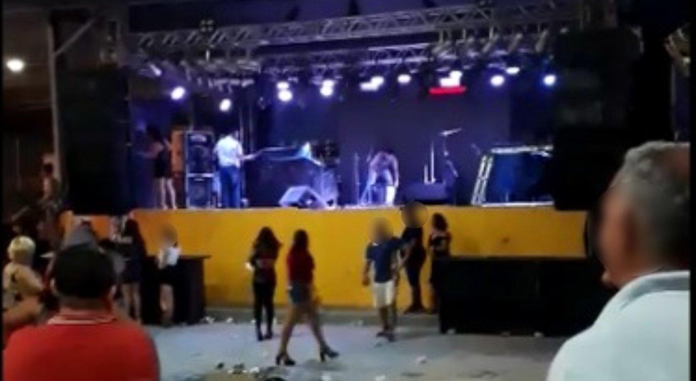 Festa termina em confusão em Limoeiro