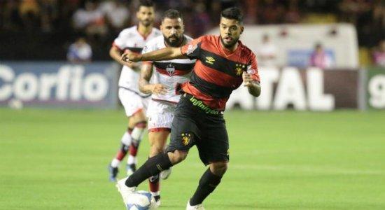 Em jogo fraco, Sport empata com Atlético-GO e volta ao G4