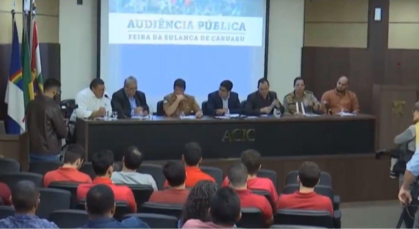 Audiência pública foi realizada na manhã desta terça na Acic