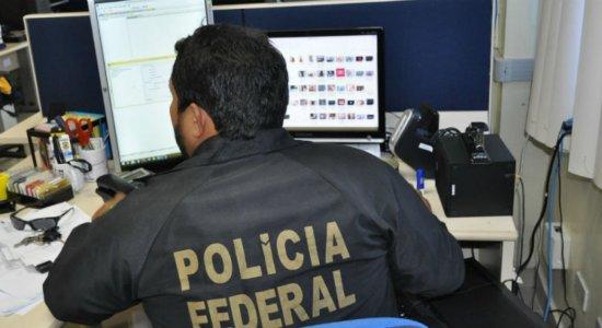 Materiais apreendidos pela Polícia Federal.