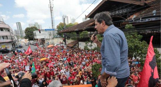Fernando Haddad cita prazo para liberdade de Lula