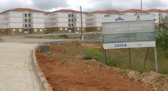 Obras do residencial Radialista Luiz Alberto ainda estão em andamento