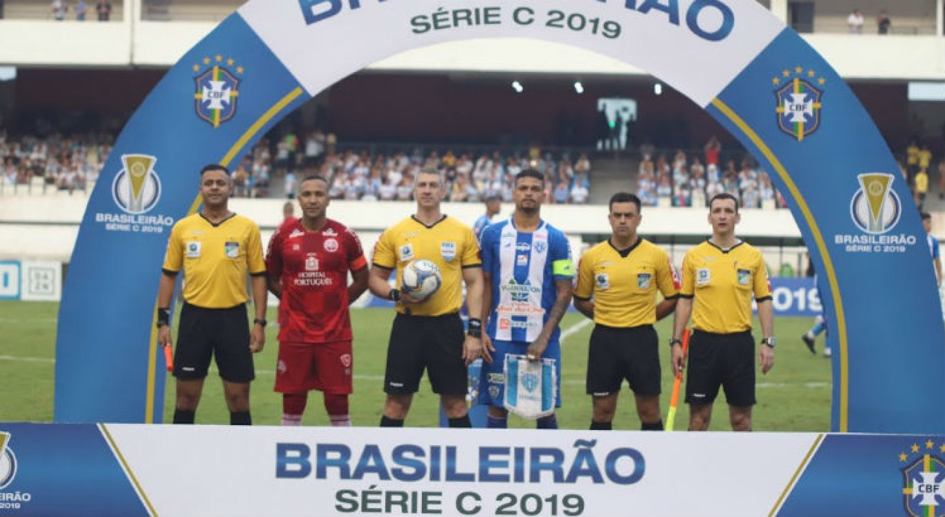 Na súmula da partida, Anderson Daronco não apontou irregularidades no jogo entre Paysandu x Náutico