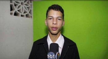 Allan Henrique tem 16 anos e sonha em jornalista