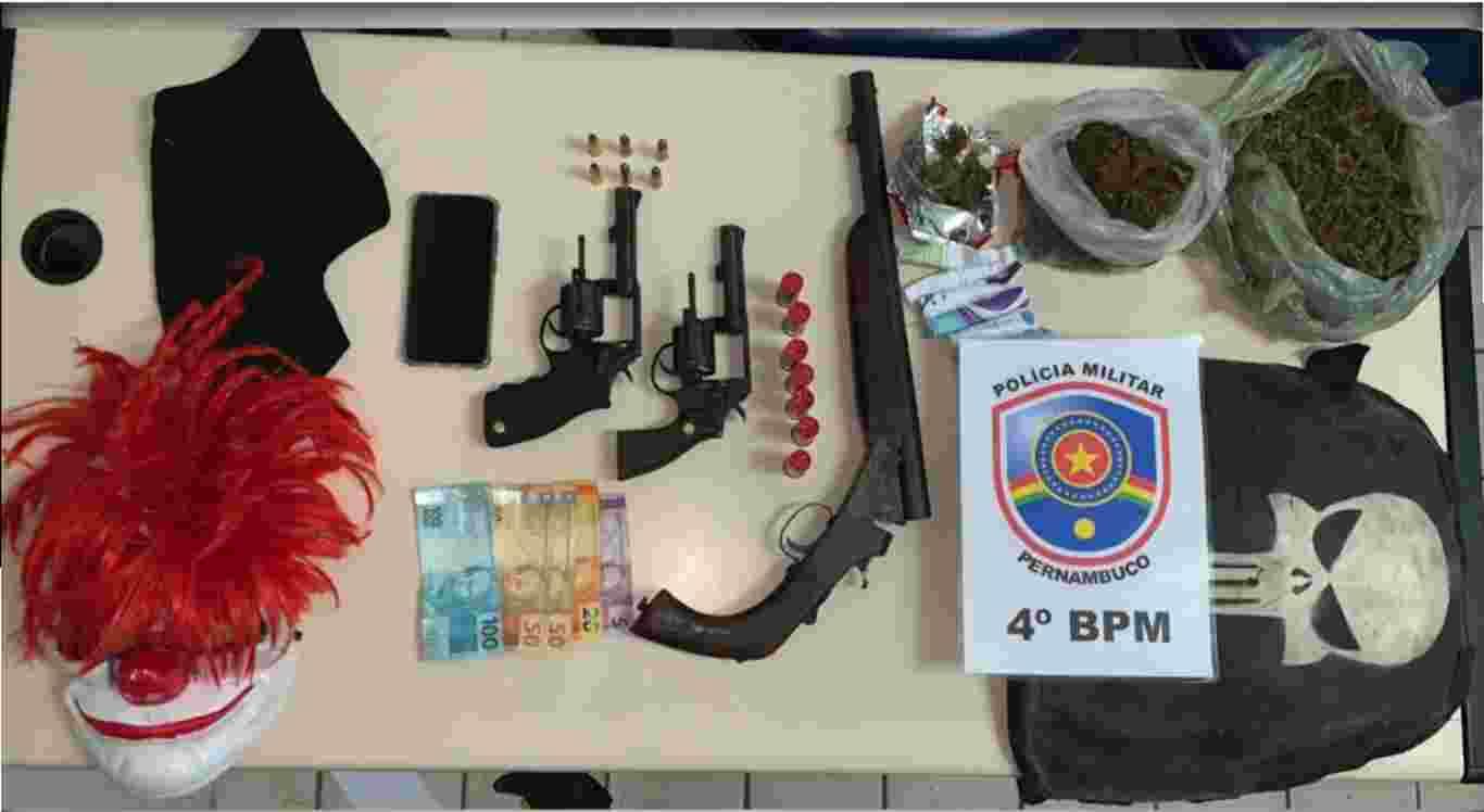 Polícia prende em Bonito suspeitos de homicídio em Barra de Guabiraba