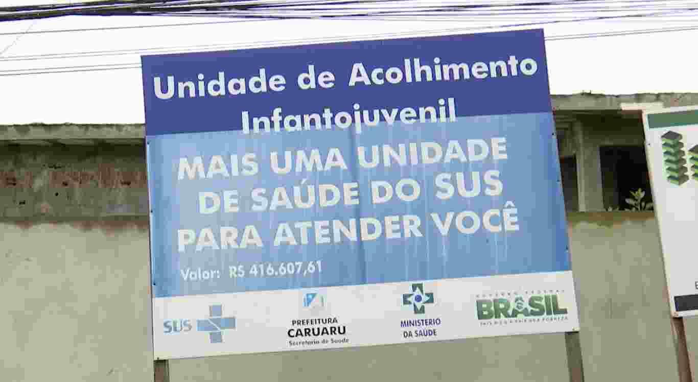 Obra inacabada causa insegurança em bairro de Caruaru