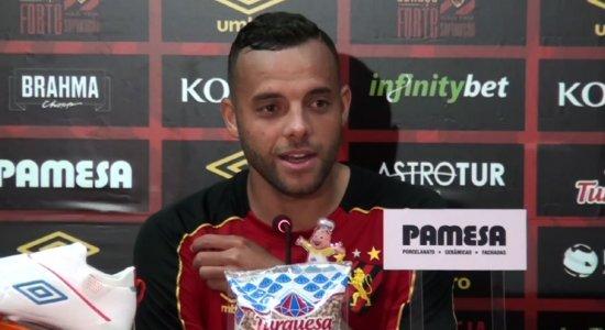 Sport: 'É melhor do que não somar nada', diz Guilherme sobre empates