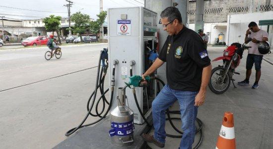 Ipem realiza fiscalização em postos de combustíveis