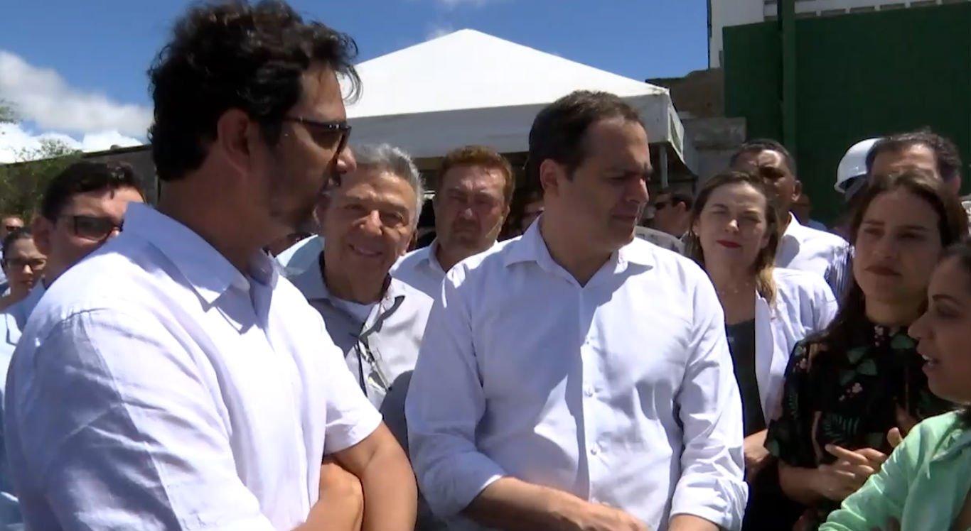 Representantes de construtora responsável apresentaram projeto do parque ao governador