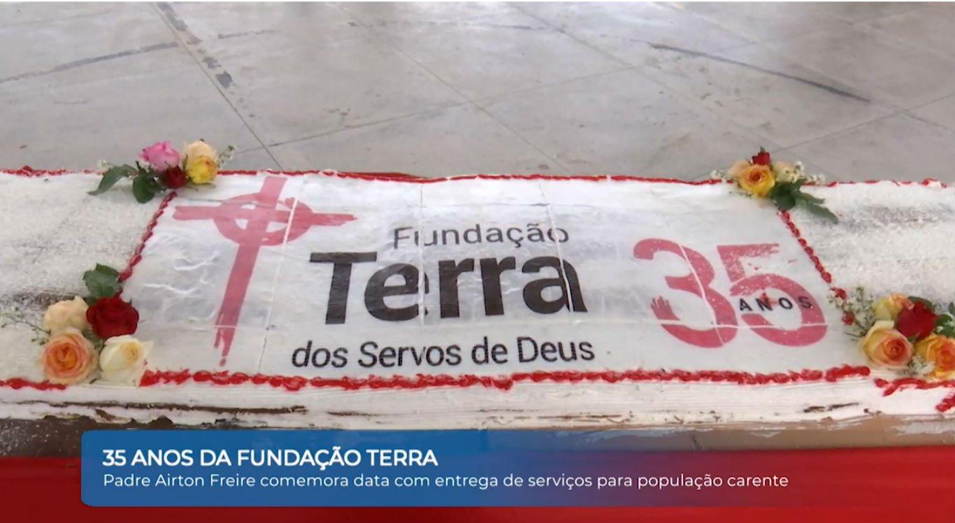 Fundação Terra celebra os 35 anos de caridade em Arcoverde, no sertão