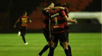 Sport venceu o Bragantino por 2x1, na Ilha do Retiro