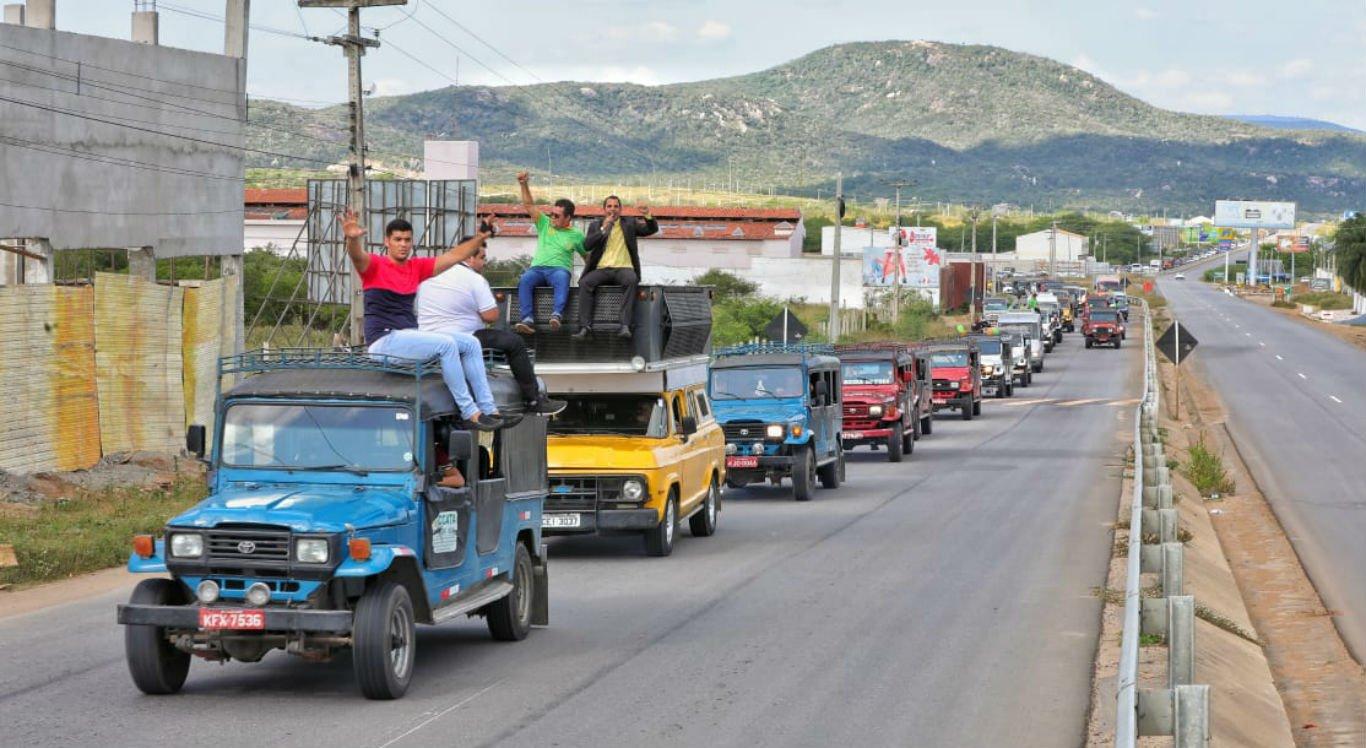 Loteiros já fizeram diversos protestos por causa da lei
