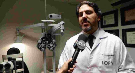 Sarampo também pode causar problemas na visão, afirma médico