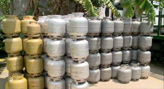 Preço do botijão de gás residencial aumenta para as distribuidoras