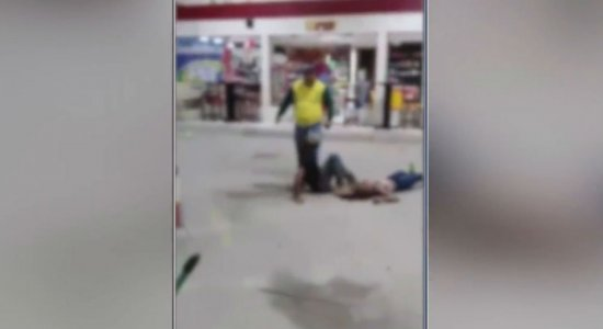Homem é espancado após ser flagrado agredindo mulher em Palmares