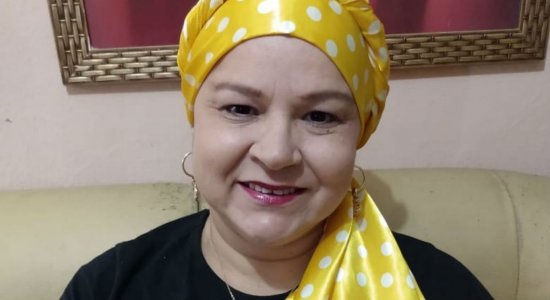 Vendedora ambulante Ana Maria Barbosa está