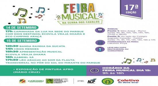 Feirinha Musical reúne atrações musicais, gastronômicas e artesanais