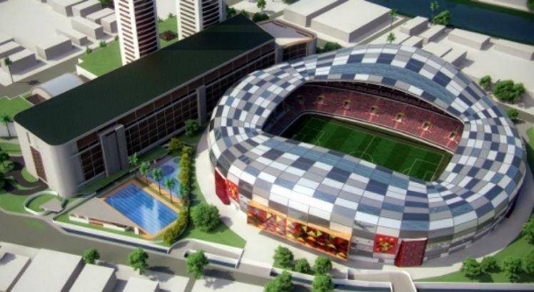 Modelo da Arena do Sport apresentado pelo Sport ficou apenas no papel.