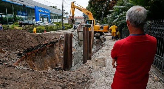 Interdição de trecho na Avenida Rui Barbosa segue até quinta-feira (19)