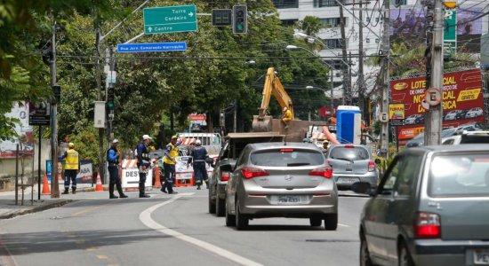 A Autarquia de Trânsito e Transporte Urbano (CTTU) montou um esquema especial de trânsito para atender à grande demanda de condutores