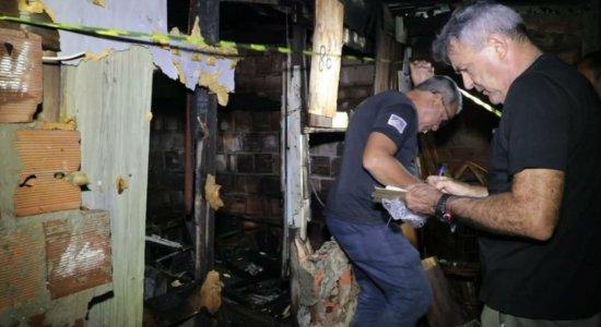 Deficiente físico morre em incêndio na Joana Bezerra