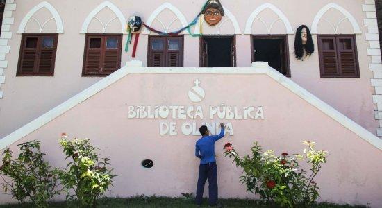 Biblioteca Pública de Olinda é reaberta após trabalho de reeducandos
