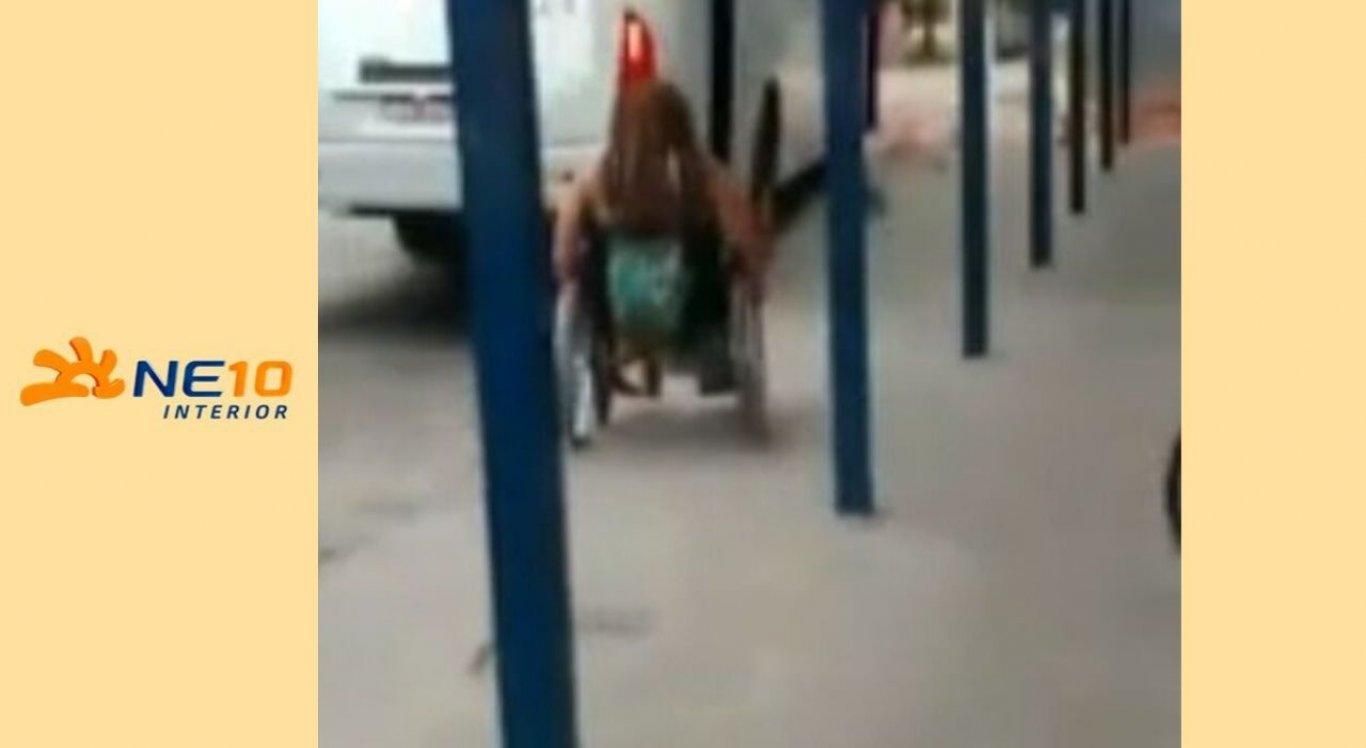 A mulher realizava a ação supostamente para não pagar passagem